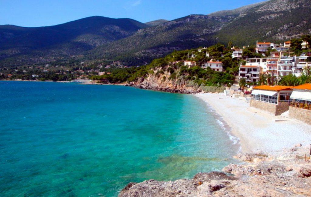 Vouliagmeni Beach in Greece