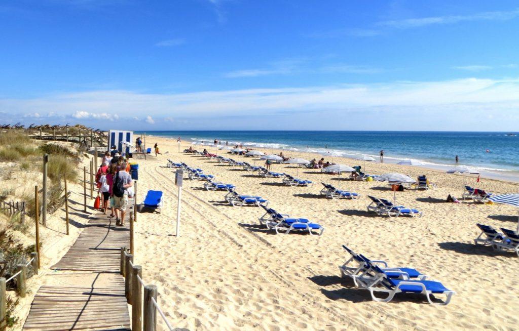 Praia do Barril in Portugal